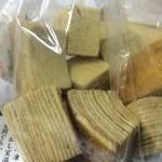 シロフジ製パン所 - 黒糖のバームクーヘン【料理】