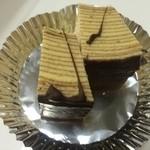 シロフジ製パン所 - お店のご厚意で頂いたチョコバームクーヘン【料理】