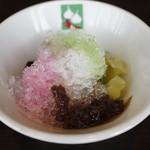 バンコクキッチン - かき氷