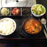 マシソヨ - これはテグタン定食 850円(税込)