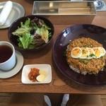 47704615 - カレーランチ/B/鶏ひき肉と豆富のドライカレー(950円)H28.02月