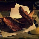 沖縄料理の店しぃぐゎー - グルクンのから揚げ