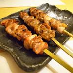 炭匠 満 - 長州地鶏串