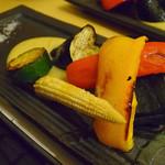 炭匠 満 - 野菜焼き