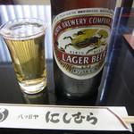 八ツ目や にしむら - ビール
