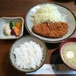 銀座 井泉 - ロースカツ定食