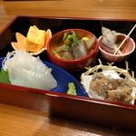 くげ庵 - おたのしみランチ:前菜5品盛り合わせ