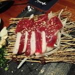 九州の地魚料理 侍 - 馬刺し