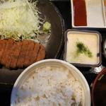牛かつ もと村 浜松町店 - 牛かつ130g(1400円)