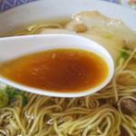 餃子館 - スープ