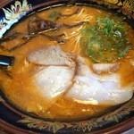 元祖 博多中洲屋台ラーメン 一竜 - 味噌とんこつ680円