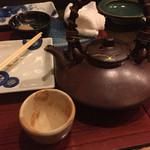 羅無櫓 - 芋焼酎お湯割り