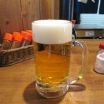 徳田酒店 - 生ビール