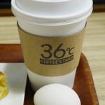 コーヒースタンド 36℃ - コーヒー、ゆで卵