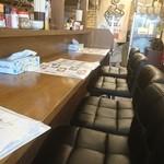麺 dining だいふく - カウンター席