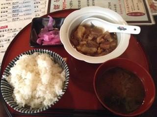 大ちゃん - [NEW] 牛すじ煮込み定食