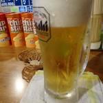 立ち飲み 小島 - 「生ビール」価格失念。
