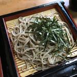 桝田屋 そば店 - 料理写真:十割そばのざる蕎麦