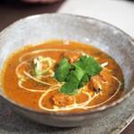 インド料理 想いの木 - アドラクキシーフードカリー