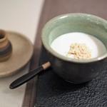 インド料理 想いの木 - 黒蜜きなこ豆乳ぷりん  ~ 和美(わび) ~