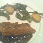 トワブラン - 黒豚バラ肉のポワレ