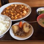 中華の永楽 - ランチA マーボー豆腐 ¥735-