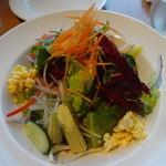 カステルモーラ - 彩り野菜のミックスサラダ:680円税別