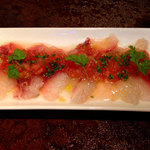 クラフトビアバル IBREW WIRED - 鮮魚のカルパッチョ