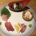 hakatahotaru - お刺身盛合せ 2人前で1580円とお得!