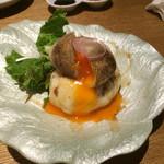 hakatahotaru - 藁焼き半熟卵のポテトサラダ
