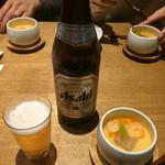 hakatahotaru - お通しは温かい茶碗蒸し