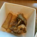 Chinese Tapas Hachi - 漬物