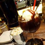 インダストリアル肉バル 夜カフェ DOWNTOWN BEER87 - カフェショコラ