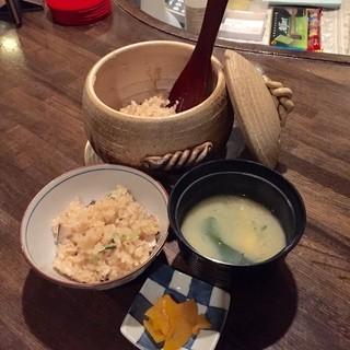 濱おか - 釜飯のセット
