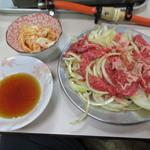 赤のれん - バラ焼き600円