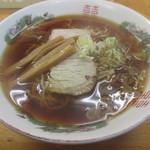 くどうラーメン - らーめん(中)500円