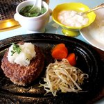 ありらん・やまと - 和牛ハンバーグ(220g) 定食!