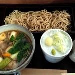 碧水庵 - 料理写真:鴨せいろ(1600円)