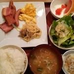 Domannaka - 朝食バイキング