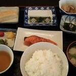 ステーションホテル新宮 - 料理写真:朝食 和定食