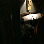 なかめのてっぺん - 入り口 茶室の入り口の様に小さい