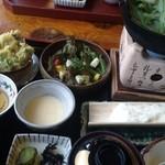 旬菜千味 さぎ草 - 山の芋御膳(1800円)