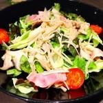 iitoco - 木の子とベーコンのサラダ(¥450)