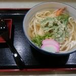 天霧うどん - 天ぷらうどん【2016.2】