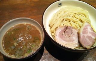 麺や輝 中津店 - つけ麺(得盛:3玉)