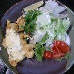 木綿屋 - チキン南蛮 野菜もいっぱい