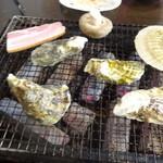 ウミコヤ38 - 焼き中