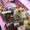 アルドールはただ - 料理写真:2016/02の開催分ケーキ台の様子→