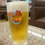 大漁丸 - 生ビールお代わり