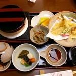 酔心 - 料理写真:釜飯天婦羅セット 1,940円